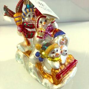 CHRISTOPHER RADKO ORNAMENTS -  lot of 8 ornaments